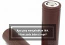 Apa yang menyebabkan titik hitam pada baterai vape?